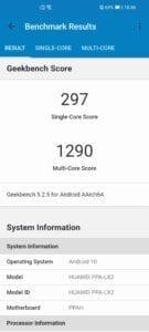 huawei p smart 2021 benchmark