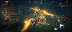 Diablo Móvil gameplay