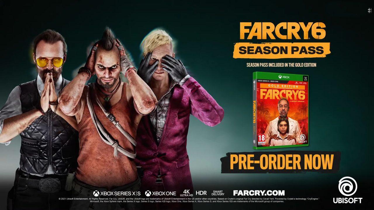 Los DLC de Far Cry 6 te convierten en los villanos de la serie
