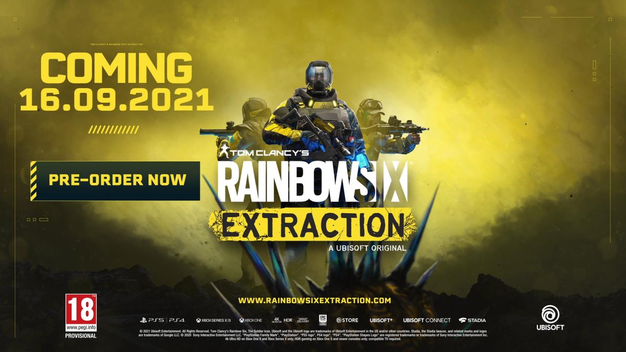 Ubisoft fecha Rainbow Six: Extraction