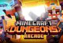 Minecraft Dungeons tendrá su propia máquina recreativa